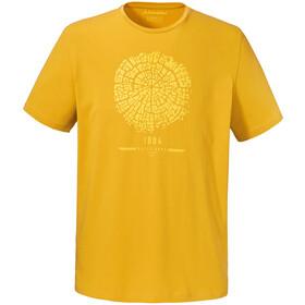 Schöffel El Chorro2 Bluzka z krótkim rękawem Mężczyźni żółty